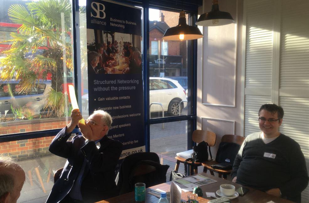 SB alliance_business_networking_breakfast_Borehamwood_with_ Keith Hubert