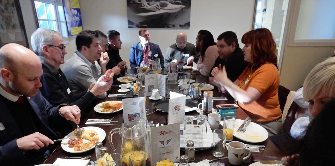 SB alliance_business_networking_breakfast_meeting_at_Elstree_Aerodrome_in_Hertfordshir